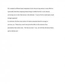 position paper nature vs nurture   essay