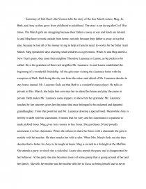 essays analysis little women