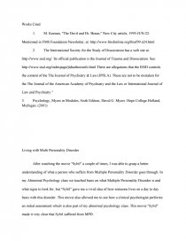 Essay On How To Start A Business Zoom  Health And Fitness Essay also Student Life Essay In English Living Multi Personality Disorder  Essay Where Is A Thesis Statement In An Essay