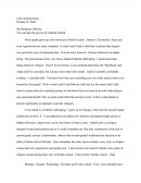 Life Learning Essay