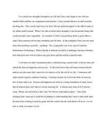 Essays In Science Essay Preview Personal Strengths And Weaknesses Zoom Zoom Political Science Essay Topics also Essay With Thesis Statement Example Personal Strengths And Weaknesses  Essay High School And College Essay