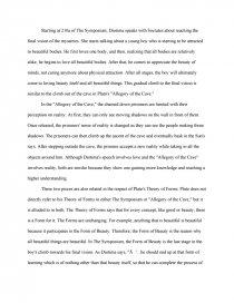 symposium cave allegory essay zoom zoom