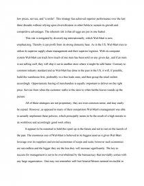Swot Analysis Walmart - Case Study