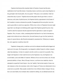an essay on reasons of napoleons defeat Disclaimer: free essays on history: european posted on this site were donated by anonymous users and are provided for informational use only the free history: european research paper (reasons for napoleon's defeat essay) presented on this page should not be viewed as a sample of our on-line writing service.
