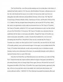 failure of the treaty of versaille essay zoom