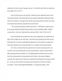to kill a mockingbird essay themes