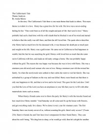 the californian s tale theme analysis essay zoom