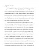 """the Crucible"" Theme Essay"
