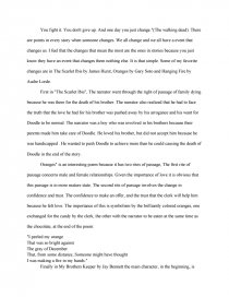 "rite of passage 2 essay Utterback 1 jack utterback mr cowger ap lit 5 november 2013 ""rite of passage"" in the poem ""rite of passage"" by sharon olds, the speaker, who is the birthday."