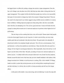 can one person change the world essay