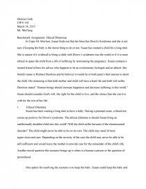 ethical egoism sample essay