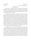 Babette's Feast Reflection Paper