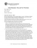 Fall of Humanity: Then and Now Worksheet