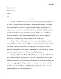 A lost lady essays front end designer resume